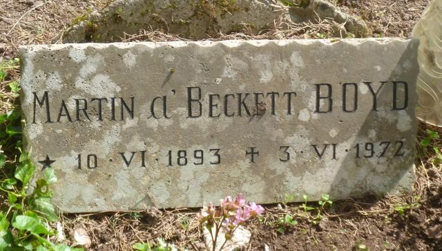 MB headstone