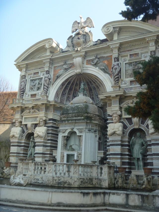 Organ fountain