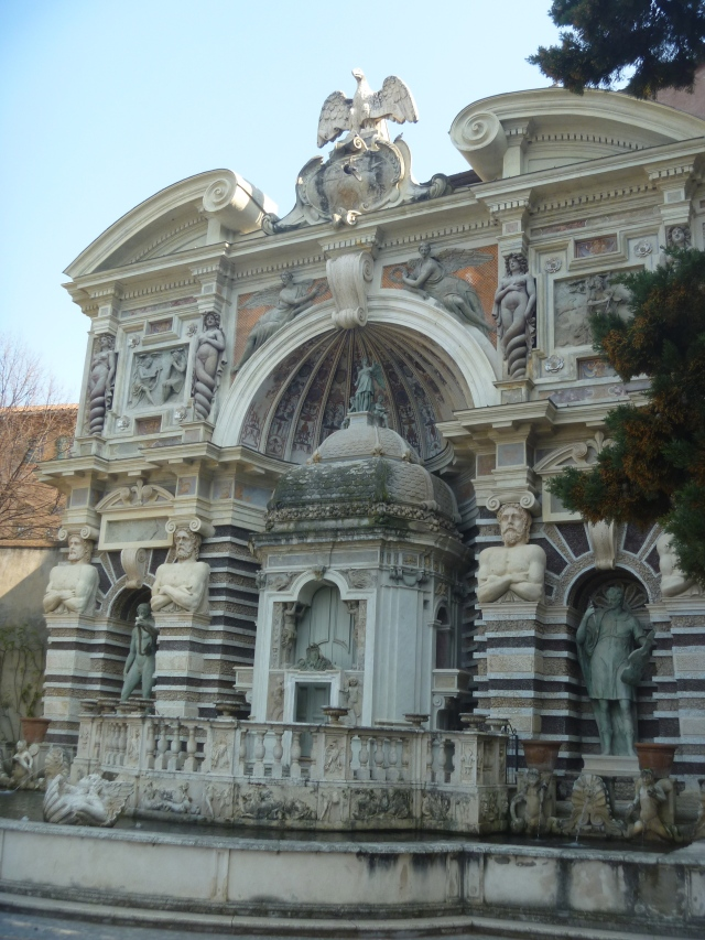 Organ fountain