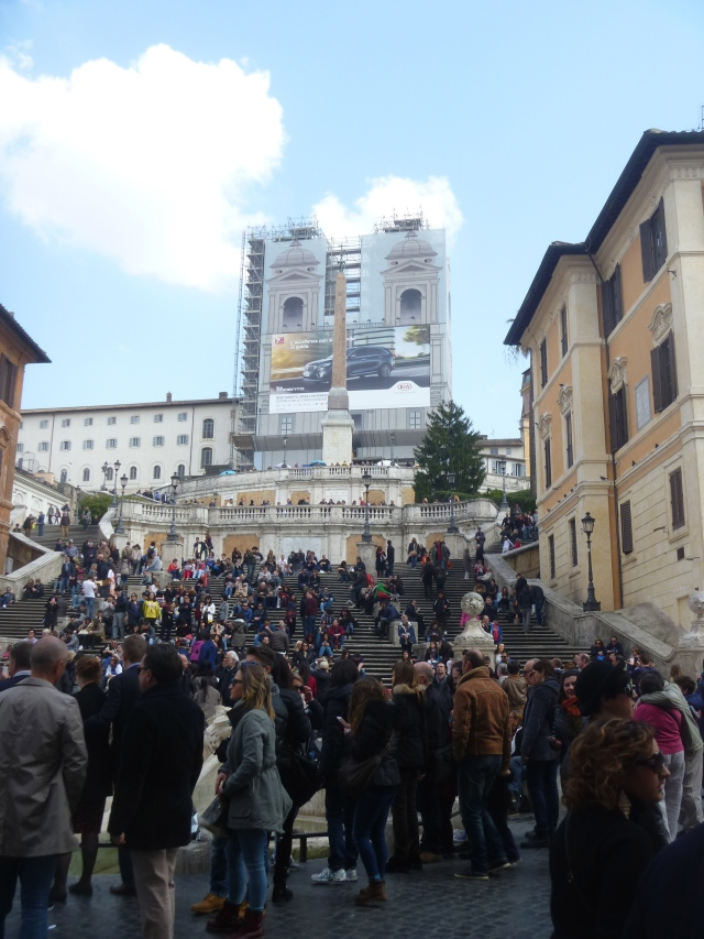 Spanish Steps in March