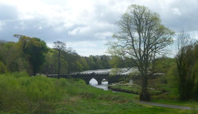Battlemented Abbey Bridge