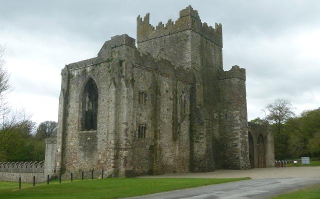 Tintern Abbey arrival