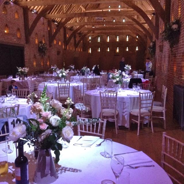 inside great barn