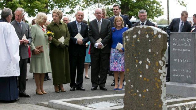 RTE picture of Charles and Camilla