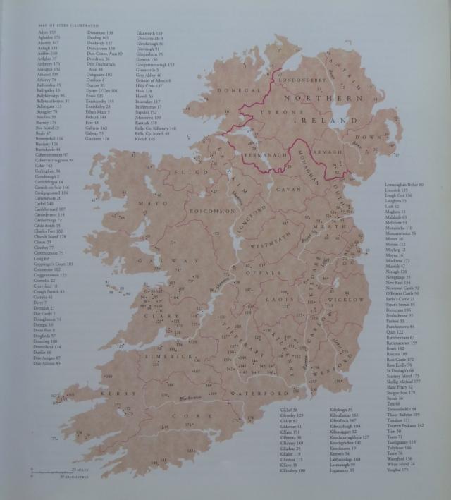 ancient ireland map