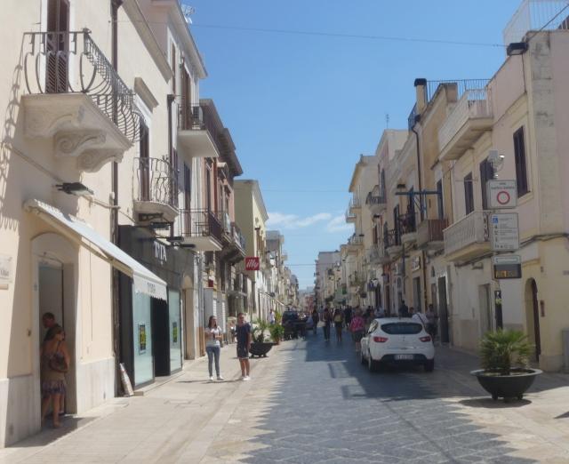 Main Street Manfredonia