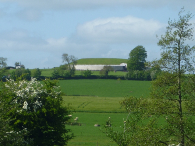 Newgrange from road