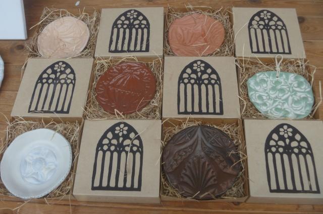 burnished pottery