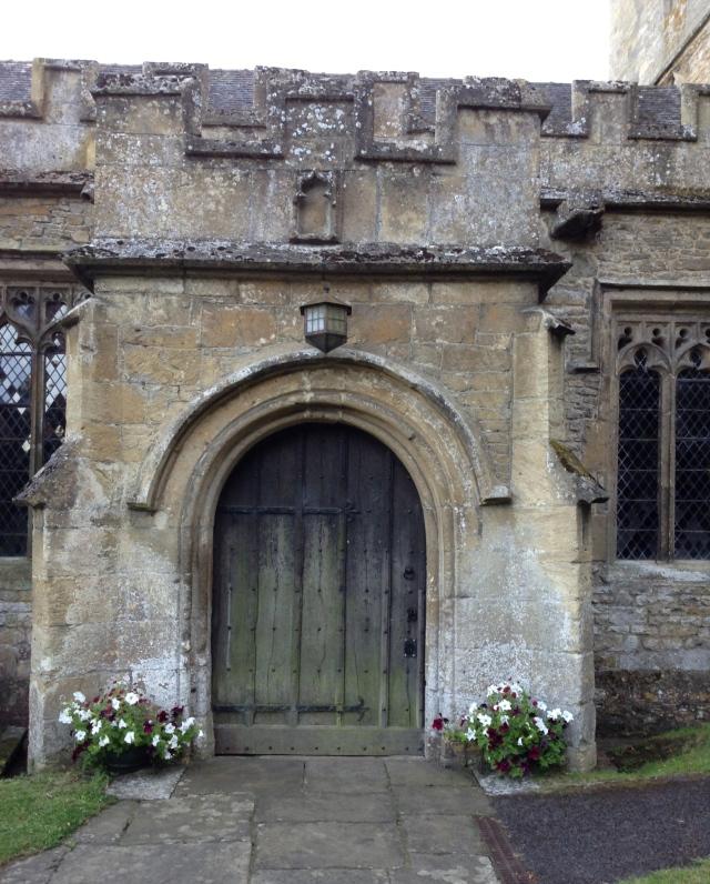 CE church door