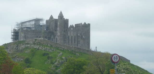 Rock of Cashel from road