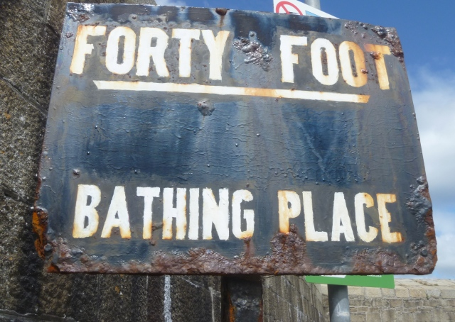 Forty foot sign