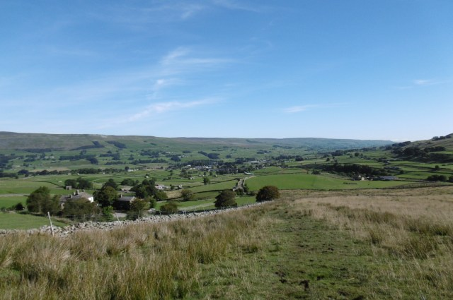 Hawes from Pennine Way