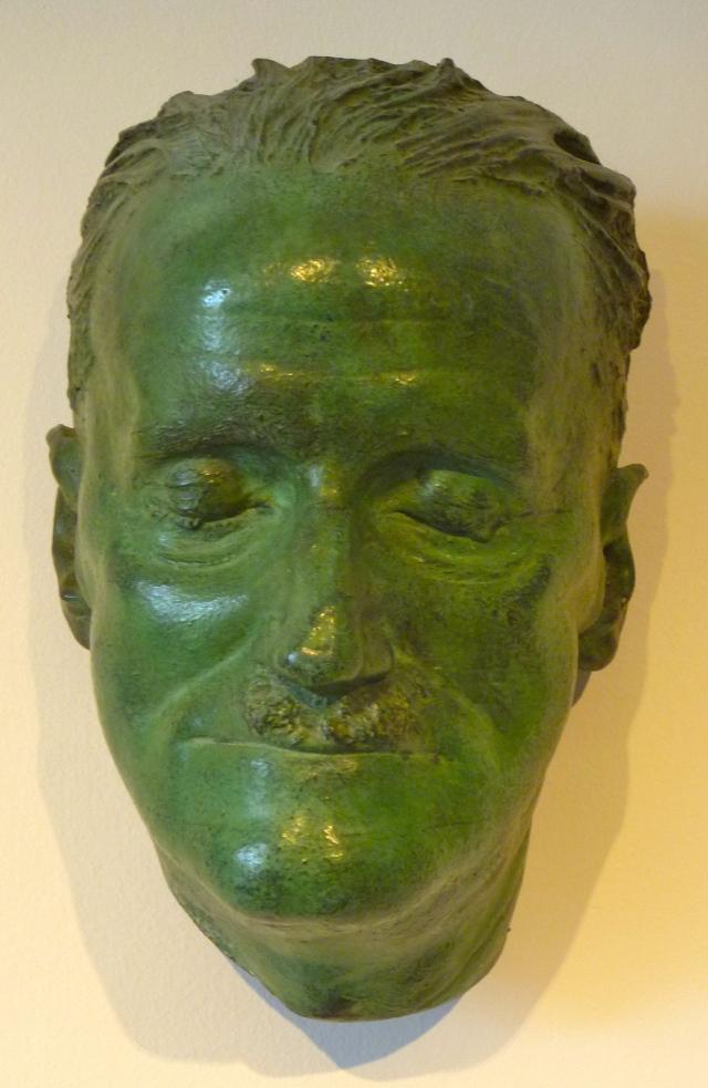 Joyce death mask
