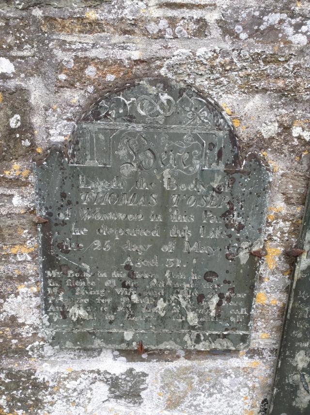 1792 gravestone