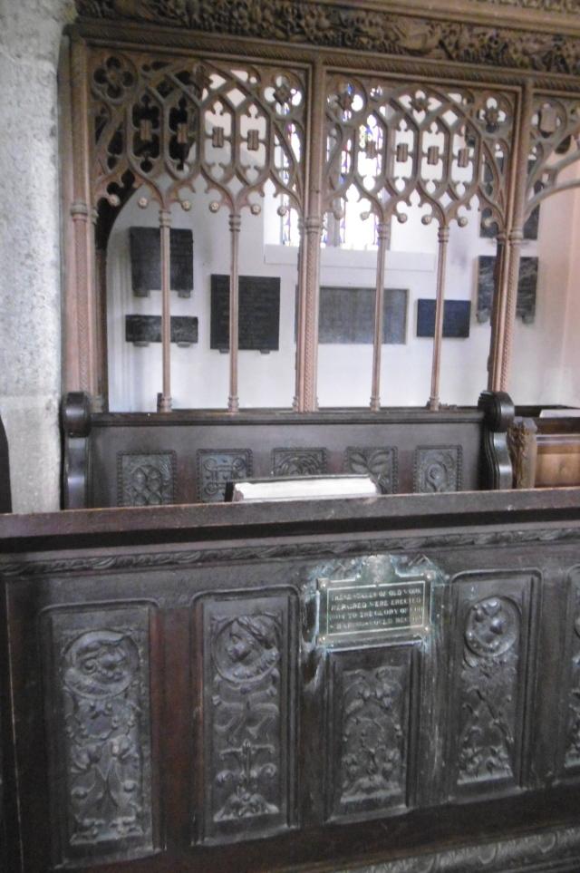 clergy stalls