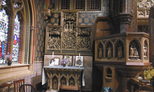 pulpit and chapel