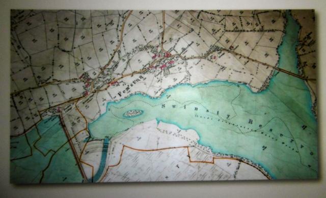 Leeds corporation waterworks map 19C