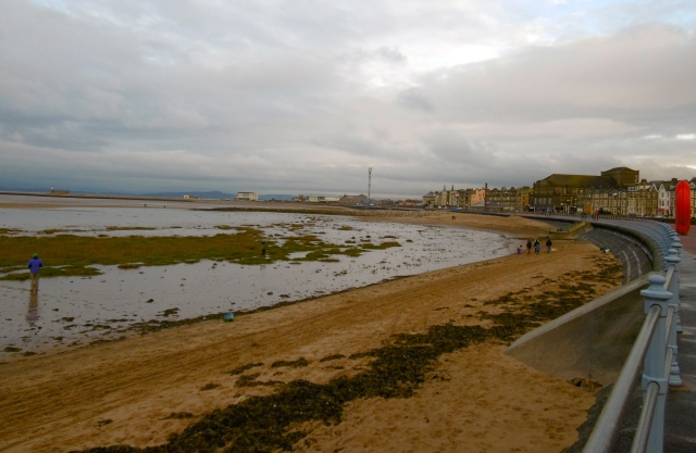 arriving back at morecambe