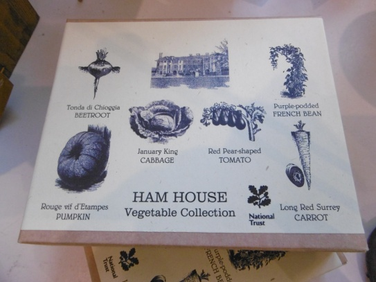 ham house veg garden plan
