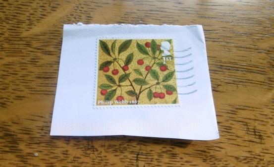 P Webb stamp