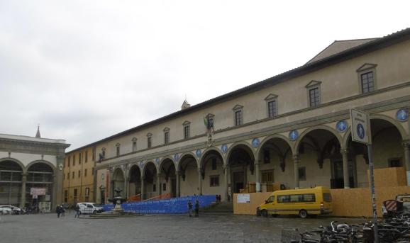 Brunelleschi's 9 bay arcade