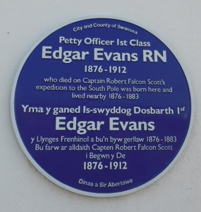 Evans plaque