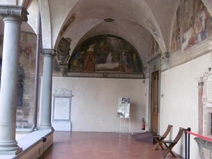 The peaceful cloister