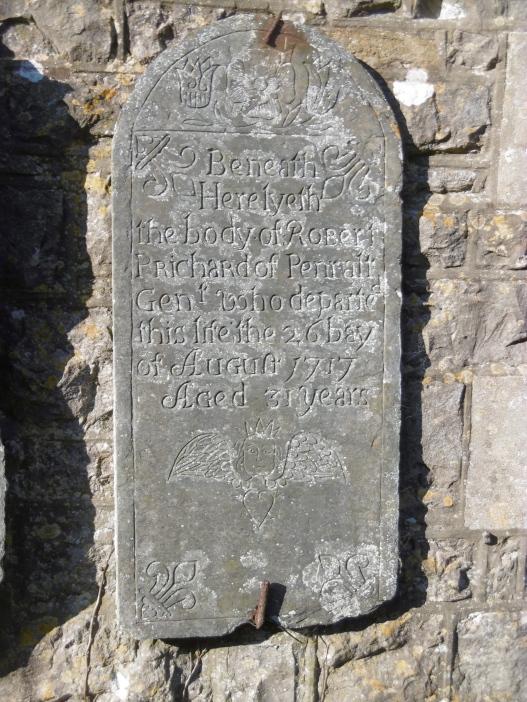 wall gravestone