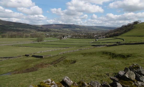 Castleton in view