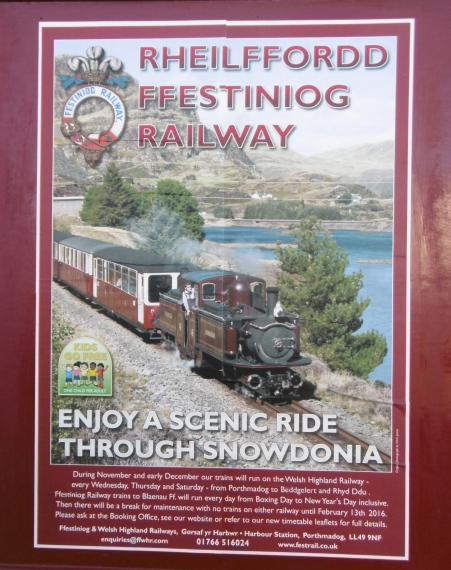 Ffestiniog Railway poster