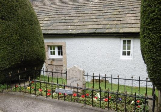 LJ's grave