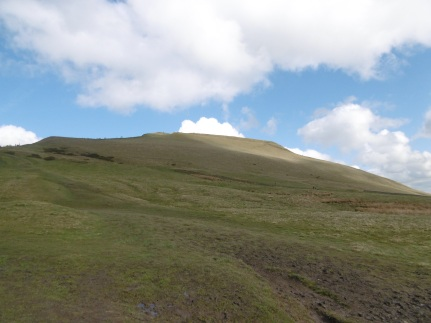 looking back up mam tor
