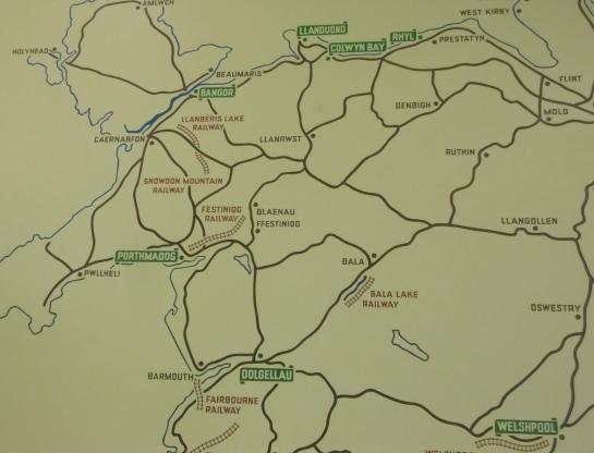 N Wales map