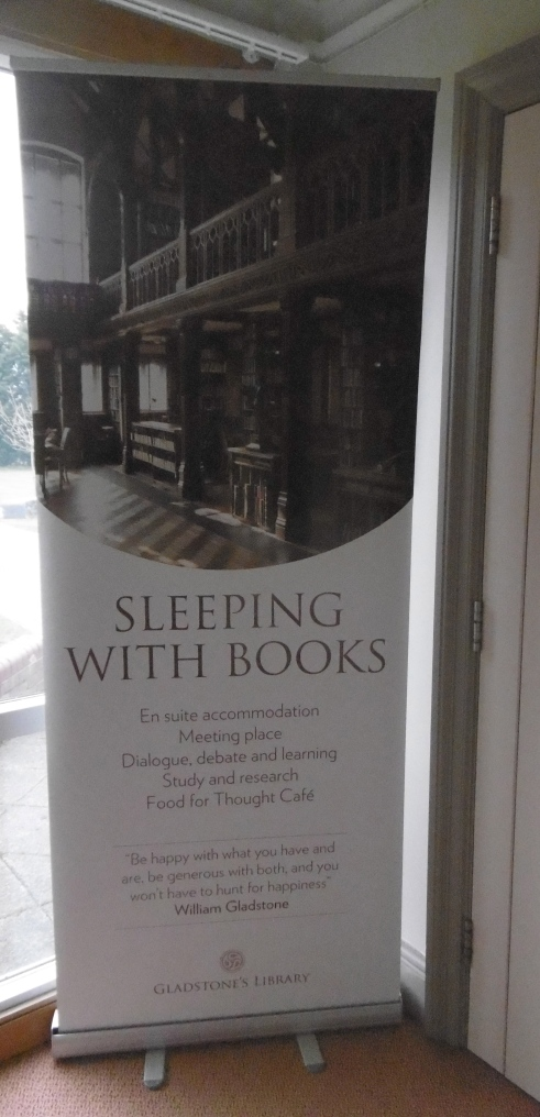 sleeping w books