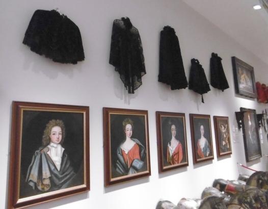 portraits and cloaks
