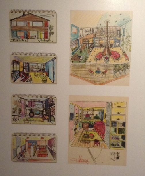Reich home drawings