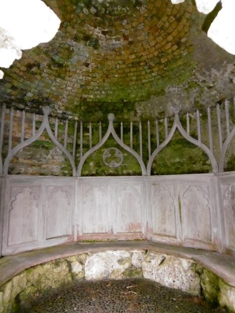 gothic panelling
