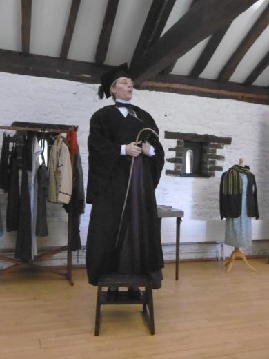 Headmistress Miss Bullocks
