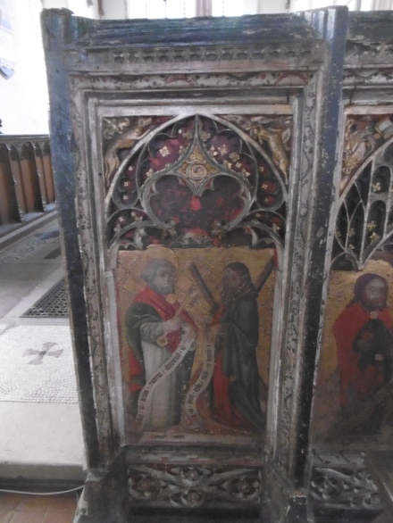 Rood screen close up