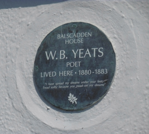 Yeats lived here