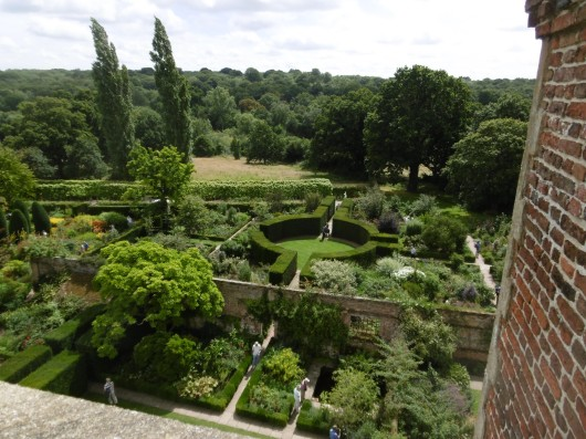 Gardens from Tower