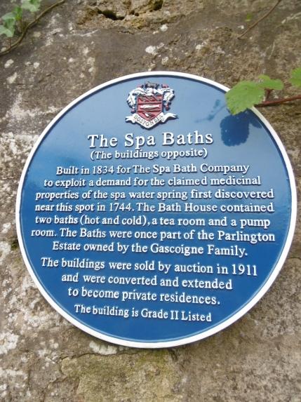 Spa plaque
