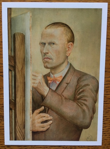 Otto Dix Self 1926