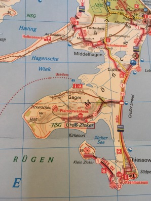 Zicker map