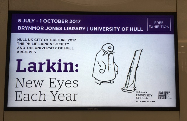 Larkin exhibition