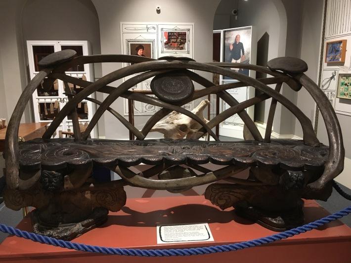 whalebone seat