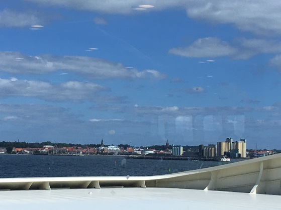 Ystad arrival