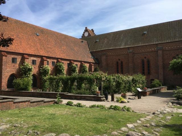 Rose garden cloister