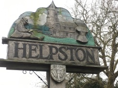 Helpston sign